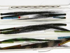 Selection of Iridescent Sunray Shadow tube flies