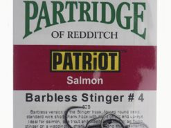 Patriot Barbless Stinger # 4 Partridge