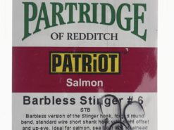 Patriot Barbless Stinger # 6 Partridge