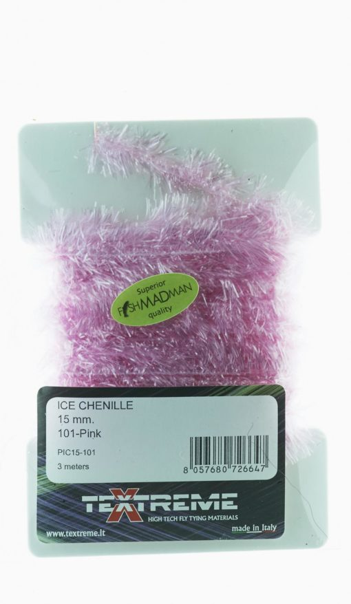 Ice Chenille 15 mm. Pink