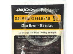 Airflo polyleader salmon steelhead 5 ft clear hover 1