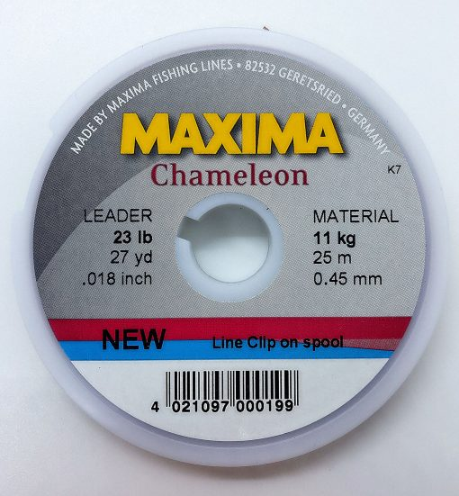 Maxima Chameleon tippet 0,45 mm. 23 lb